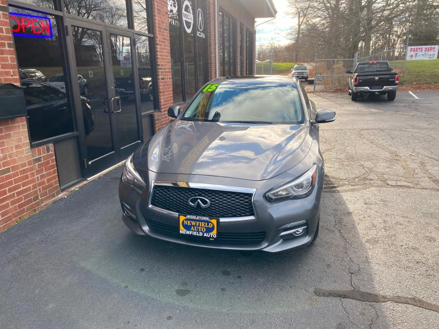 Used 2015 INFINITI Q50 in Middletown, Connecticut   Newfield Auto Sales. Middletown, Connecticut