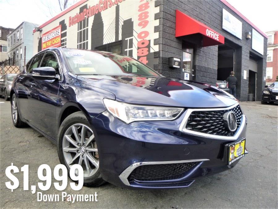 Used 2018 Acura TLX in Chelsea, Massachusetts | Boston Prime Cars Inc. Chelsea, Massachusetts