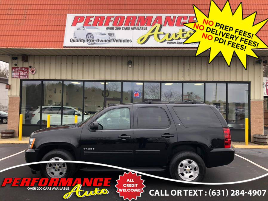 Used Chevrolet Tahoe 4WD 4dr 1500 LT 2013 | Performance Auto Inc. Bohemia, New York