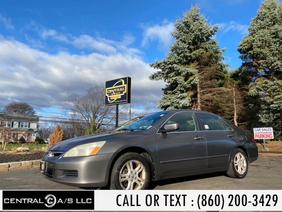 Used 2006 Honda Accord Sdn in East Windsor, Connecticut | Central A/S LLC. East Windsor, Connecticut