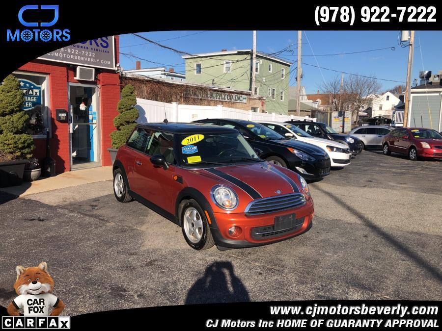 Used 2011 MINI Cooper Hardtop in Beverly, Massachusetts | CJ Motors Inc. Beverly, Massachusetts