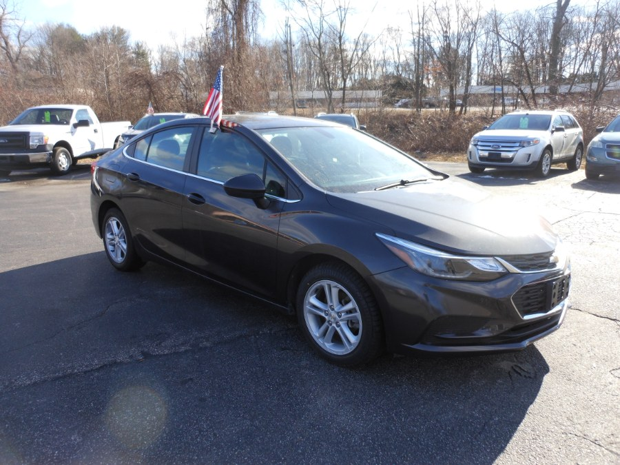 Used Chevrolet Cruze 4dr Sdn 1.4L LT w/1SD 2017 | Yantic Auto Center. Yantic, Connecticut