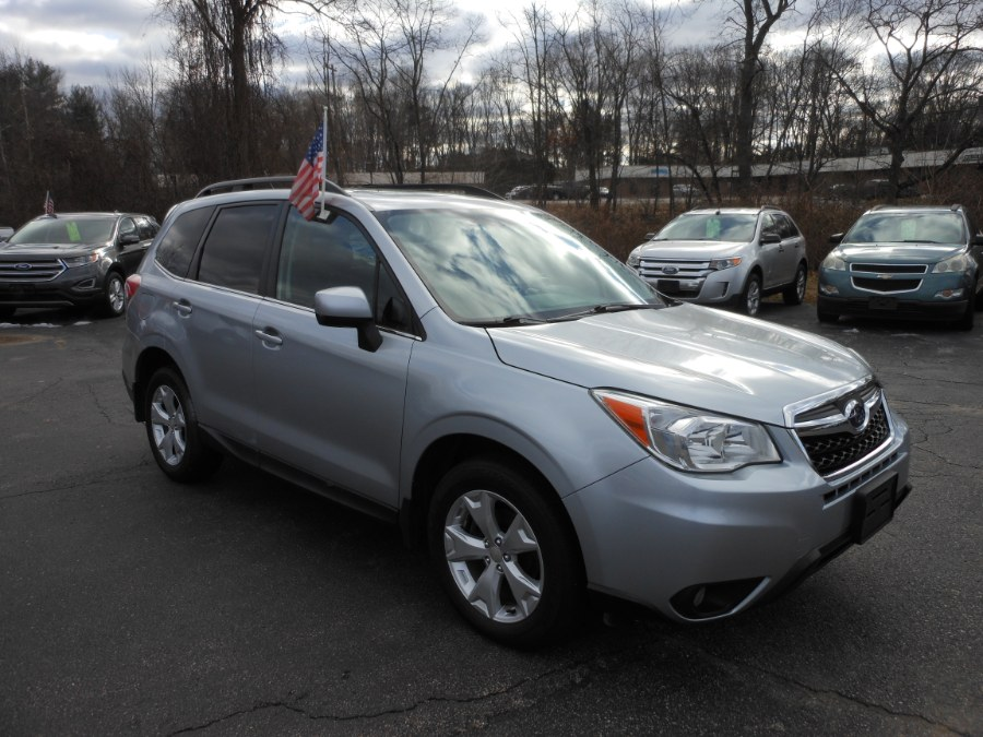 Used Subaru Forester 4dr Auto 2.5i Limited PZEV 2014 | Yantic Auto Center. Yantic, Connecticut