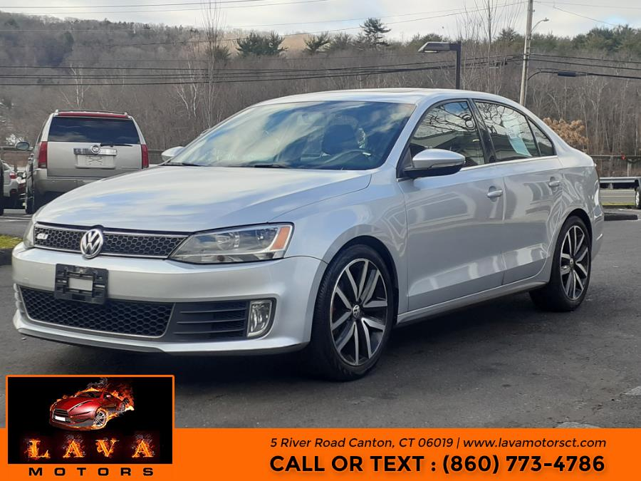 Used Volkswagen Jetta Sedan 4dr Man GLI Edition 30 w/Nav PZEV 2014 | Lava Motors. Canton, Connecticut