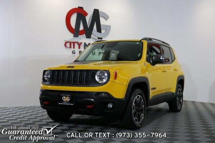 Used 2015 Jeep Renegade in Haskell, New Jersey | City Motor Group Inc.. Haskell, New Jersey