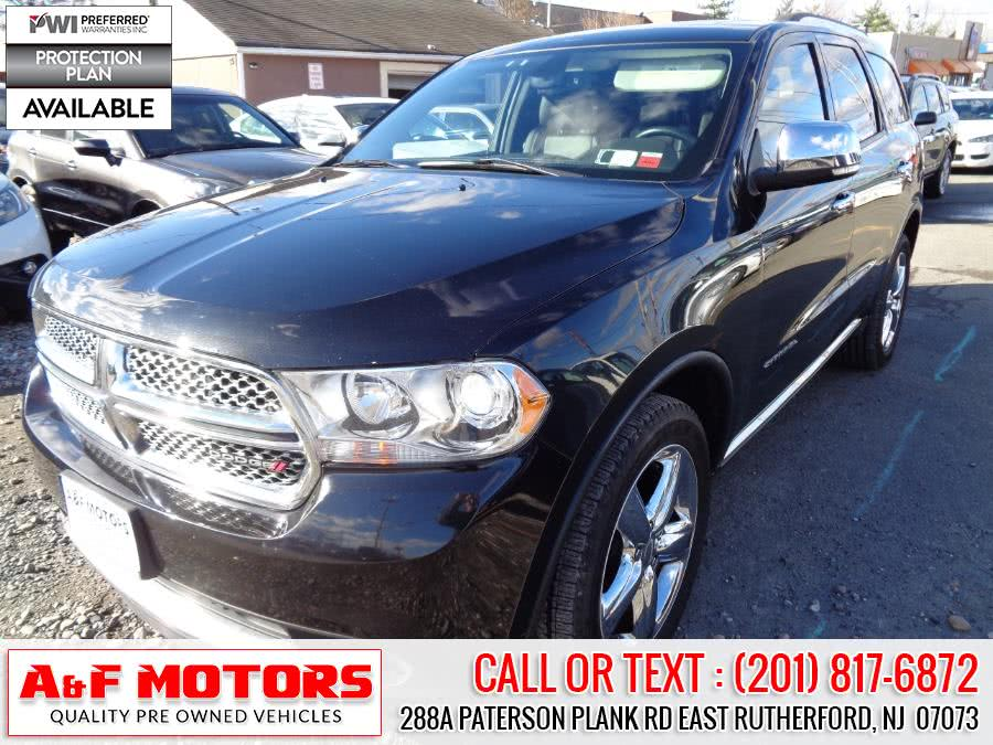 Used 2013 Dodge Durango in East Rutherford, New Jersey | A&F Motors LLC. East Rutherford, New Jersey