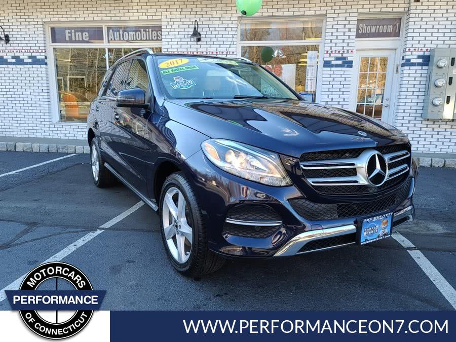 Used Mercedes-Benz GLE GLE 350 4MATIC SUV 2017 | Performance Motor Cars. Wilton, Connecticut