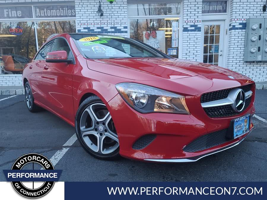 Used Mercedes-Benz CLA CLA 250 4MATIC Coupe 2018 | Performance Motor Cars. Wilton, Connecticut
