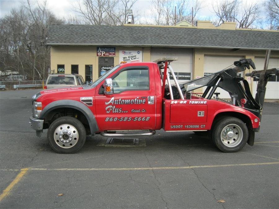"""Used Ford Super Duty F-450 DRW 4WD Reg Cab 165"""" WB 84"""" CA XL 2008   Automotive Plus. Bristol, Connecticut"""