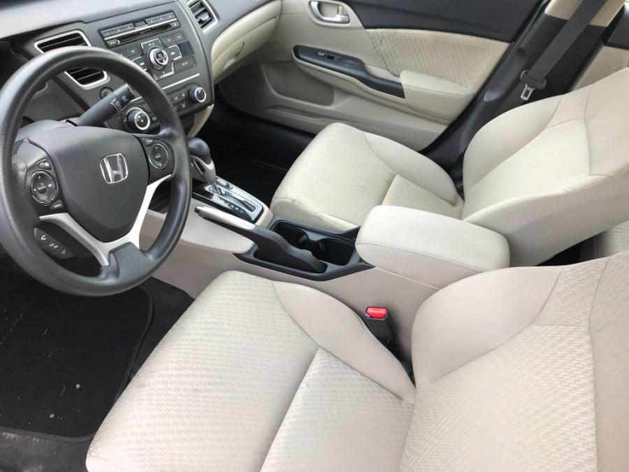 Used Honda Civic Sedan 4dr CVT LX 2015   5M Motor Corp. Hamden, Connecticut