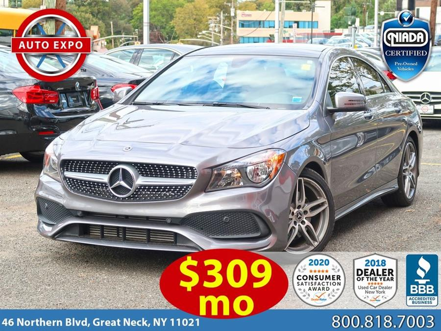Used 2018 Mercedes-benz Cla in Great Neck, New York | Auto Expo Ent Inc.. Great Neck, New York