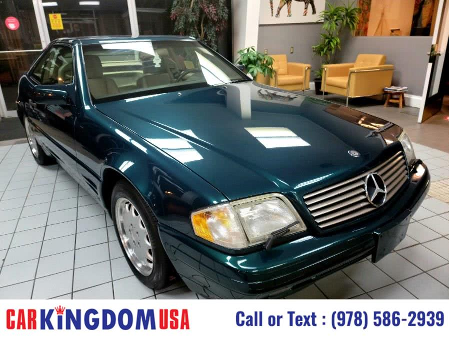 Used Mercedes-Benz SL Class 2dr Roadster 3.2L 1996 | Car Kingdom USA. Lawrence, Massachusetts