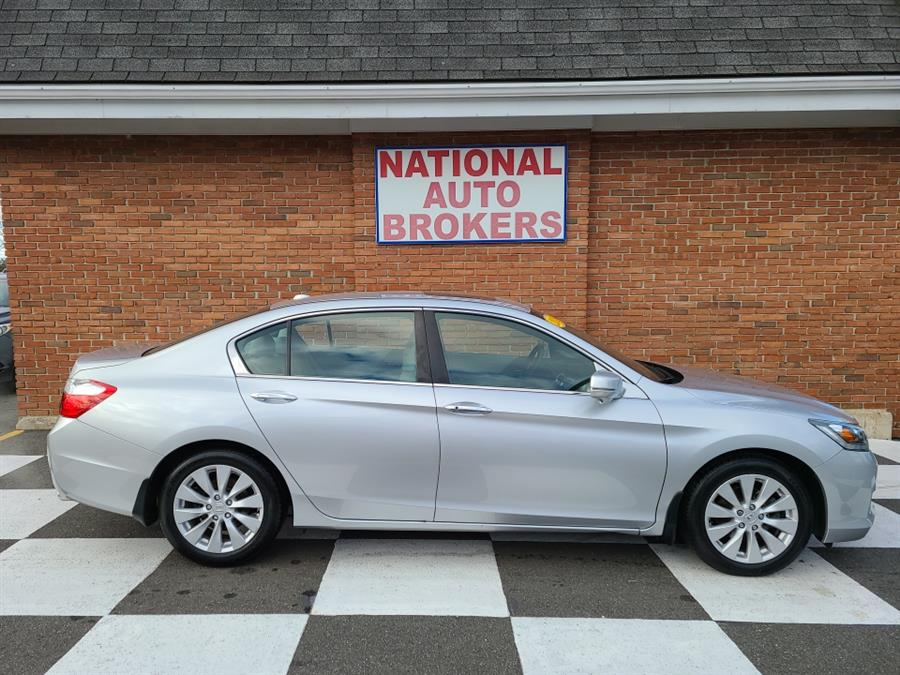 Used Honda Accord Sdn 4dr EX-L 2013 | National Auto Brokers, Inc.. Waterbury, Connecticut
