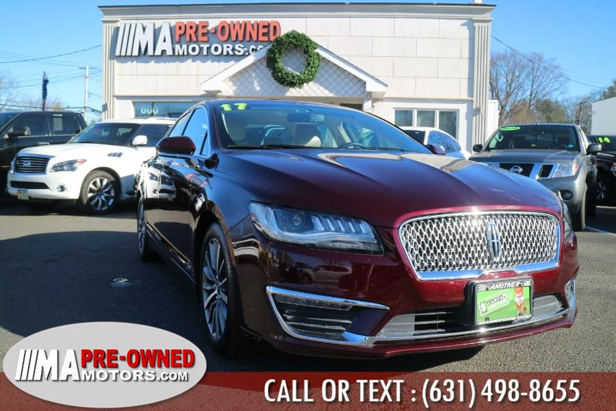 Used 2017 Lincoln MKZ in Huntington, New York | M & A Motors. Huntington, New York