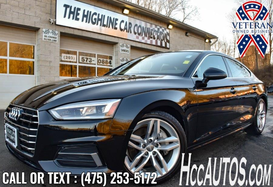 Used 2019 Audi A5 Sportback in Waterbury, Connecticut | Highline Car Connection. Waterbury, Connecticut