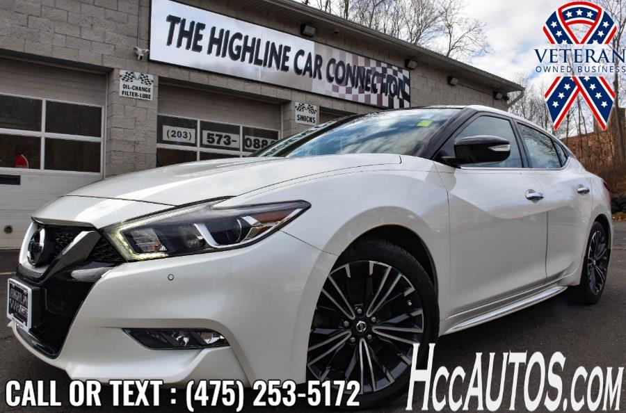Used Nissan Maxima SL 3.5L 2017 | Highline Car Connection. Waterbury, Connecticut