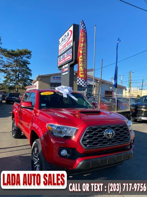 Used Toyota Tacoma 4WD SR5 Double Cab 5'' Bed V6 AT (Natl) 2020 | Lada Auto Sales. Bridgeport, Connecticut
