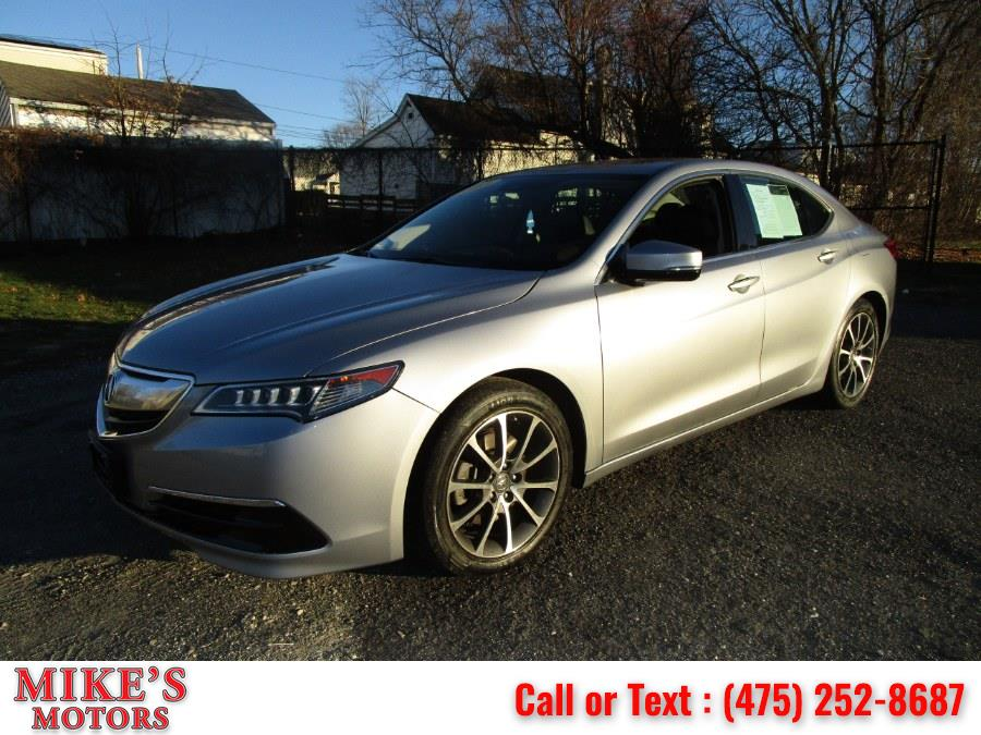Used Acura TLX 4dr Sdn FWD V6 Tech 2015 | Mike's Motors LLC. Stratford, Connecticut