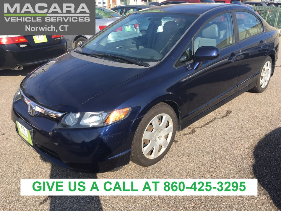 Used 2008 Honda Civic Sdn in Norwich, Connecticut | MACARA Vehicle Services, Inc. Norwich, Connecticut