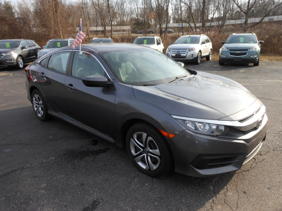 Used Honda Civic Sedan 4dr CVT LX 2016 | Yantic Auto Center. Yantic, Connecticut