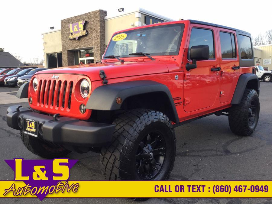Used 2015 Jeep Wrangler Unlimited in Plantsville, Connecticut | L&S Automotive LLC. Plantsville, Connecticut