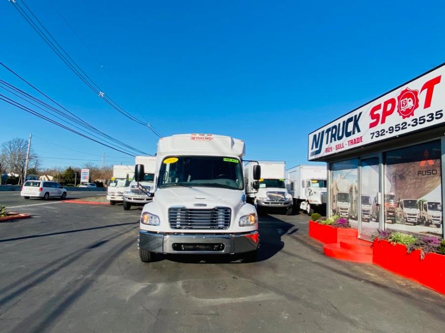 Used FREIGHTLINER M2 106 DEFENDER 33 PASSENGER DEFENDER SHUTTLE BUS + NO CDL 2018 | NJ Truck Spot. South Amboy, New Jersey