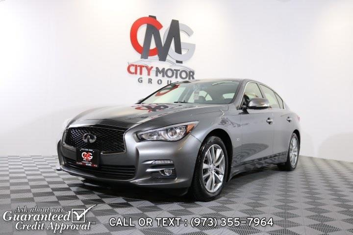 Used 2014 Infiniti Q50 in Haskell, New Jersey | City Motor Group Inc.. Haskell, New Jersey