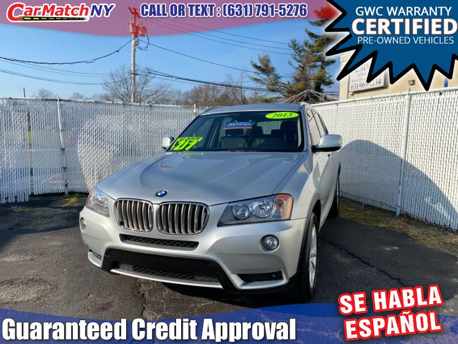 Used 2013 BMW X3 in Bayshore, New York | Carmatch NY. Bayshore, New York