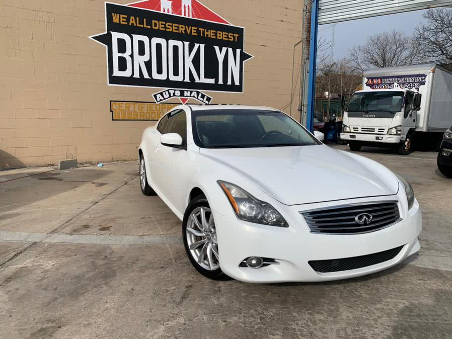 Used 2012 Infiniti G37 Coupe in Brooklyn, New York | Brooklyn Auto Mall LLC. Brooklyn, New York