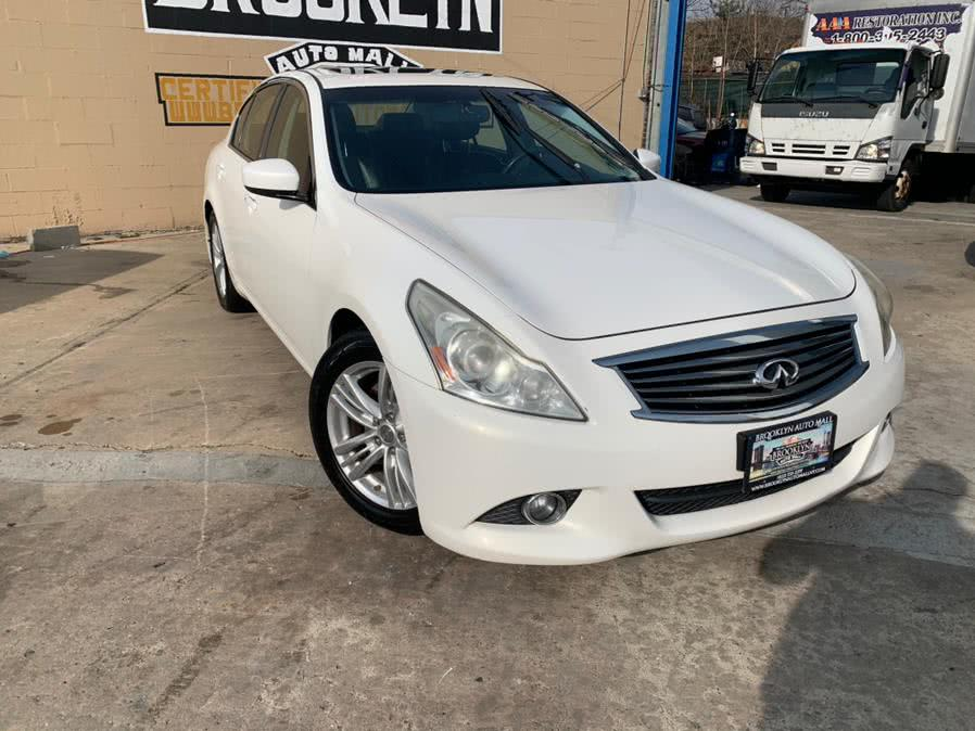 Used 2013 Infiniti G37 Sedan in Brooklyn, New York | Brooklyn Auto Mall LLC. Brooklyn, New York