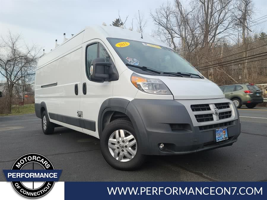 "Used Ram ProMaster Cargo Van 3500 Extended High Roof 159"" WB 2015 