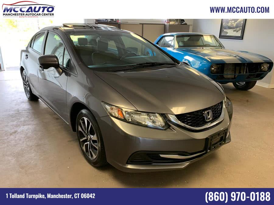 Used 2014 Honda Civic Sedan in Manchester, Connecticut | Manchester Autocar Center. Manchester, Connecticut