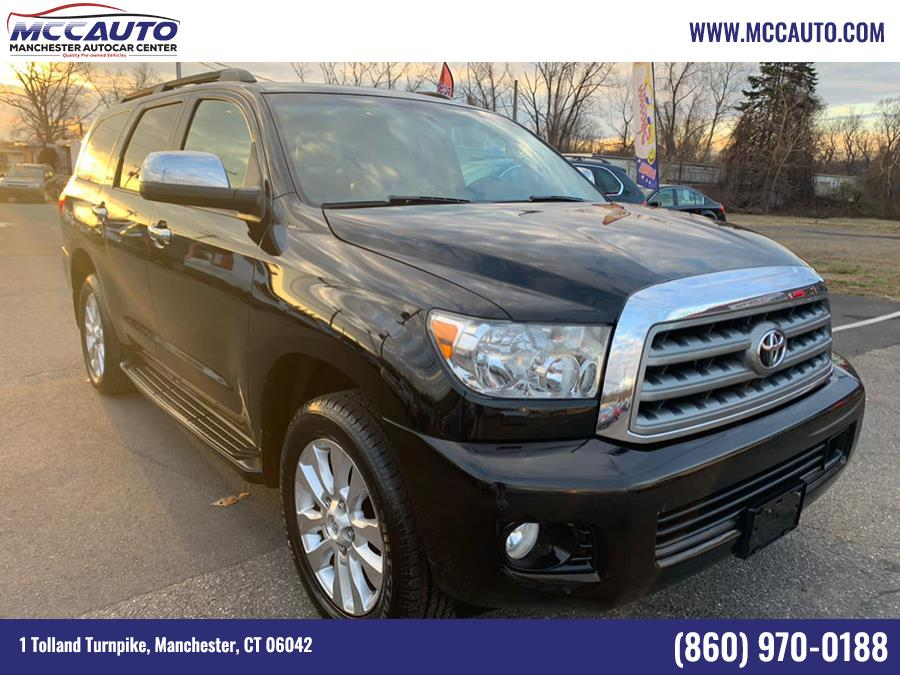 Used Toyota Sequoia 4WD LV8 FFV 6-Spd AT Platinum (Natl) 2010 | Manchester Autocar Center. Manchester, Connecticut