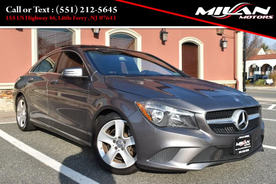 Used Mercedes-Benz CLA-Class 4dr Sdn CLA 250 4MATIC 2015 | Milan Motors. Little Ferry , New Jersey