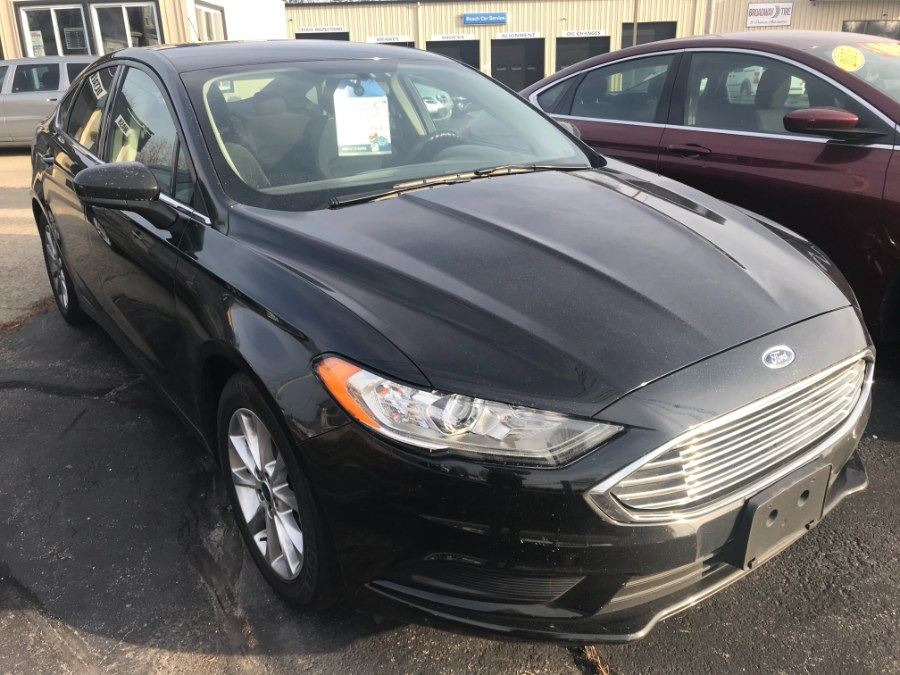 Used Ford Fusion SE FWD 2017 | Premier Automotive Sales. Warwick, Rhode Island