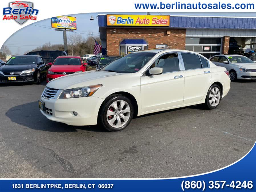 Used Honda Accord Sdn 4dr V6 Auto EX-L w/Navi 2010 | Berlin Auto Sales LLC. Berlin, Connecticut