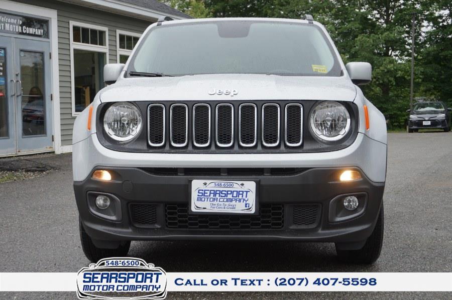 Used Jeep Renegade Latitude 4x4 2017 | Rockland Motor Company. Rockland, Maine