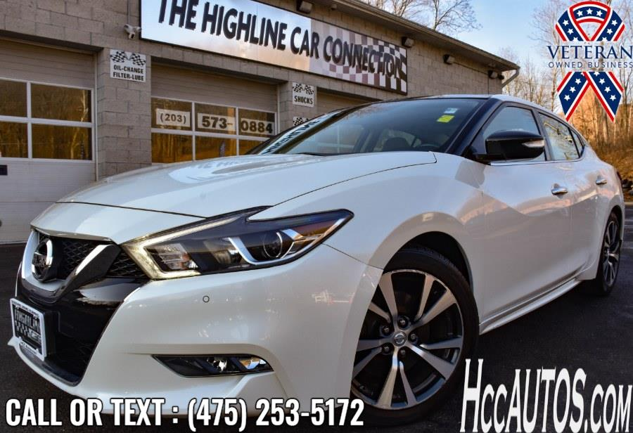 Used 2017 Nissan Maxima in Waterbury, Connecticut | Highline Car Connection. Waterbury, Connecticut