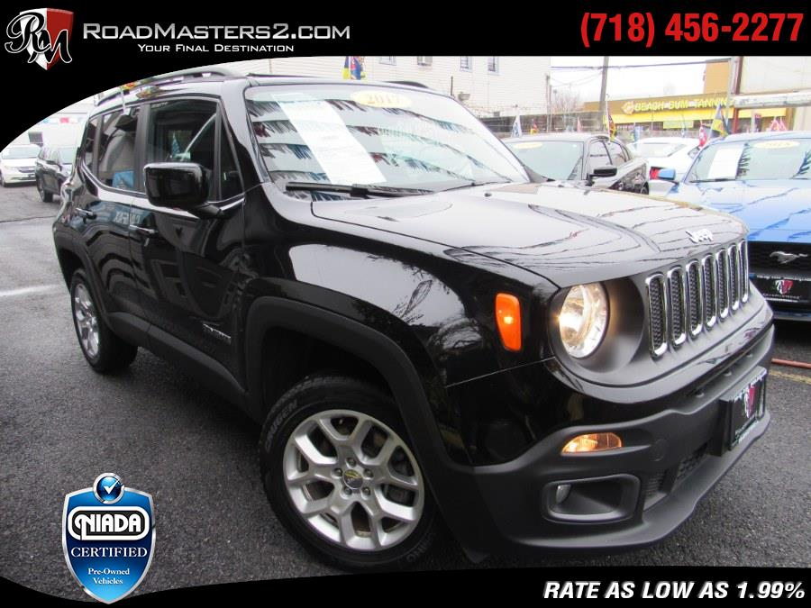 Used 2017 Jeep Renegade in Middle Village, New York   Road Masters II INC. Middle Village, New York