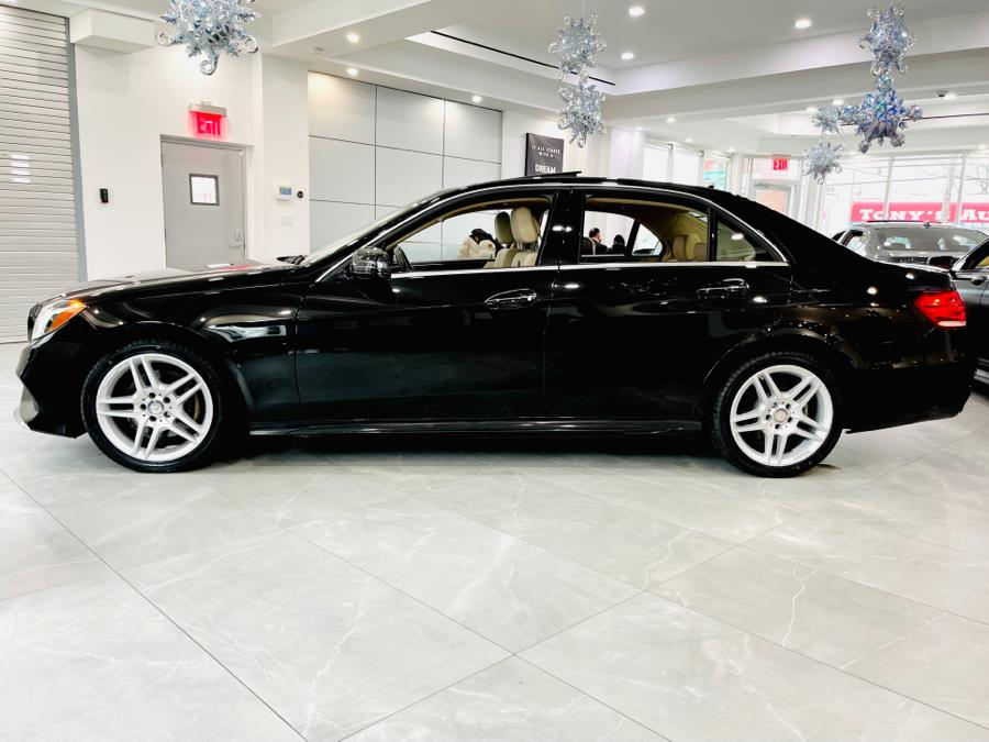 Used Mercedes-Benz E-Class 4dr Sdn E350 Sport 4MATIC 2016 | Luxury Motor Club. Franklin Square, New York