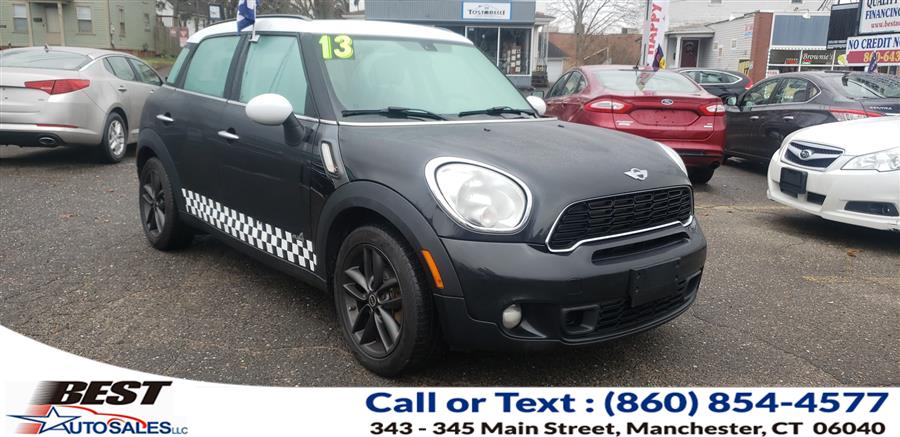 Used MINI Cooper Countryman AWD 4dr S ALL4 2013 | Best Auto Sales LLC. Manchester, Connecticut