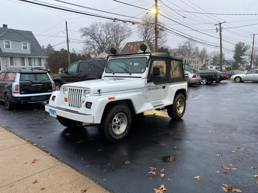 Used 1992 Jeep Wrangler in Milford, Connecticut | Village Auto Sales. Milford, Connecticut