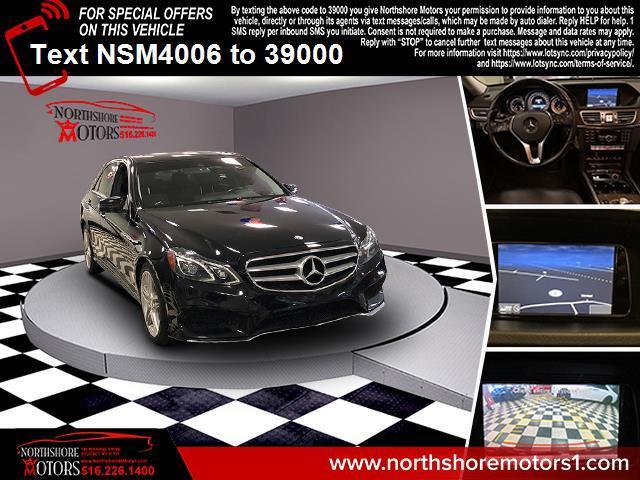Used Mercedes-Benz E-Class 4dr Sdn E 350 Sport 4MATIC 2014 | Northshore Motors. Syosset , New York