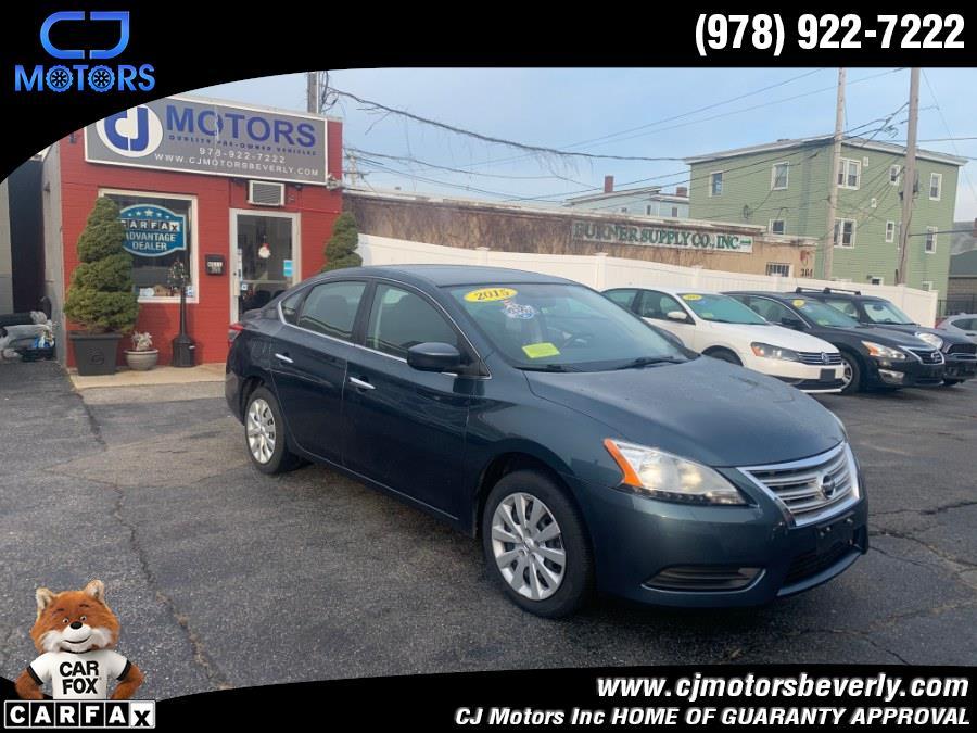 Used 2015 Nissan Sentra in Beverly, Massachusetts | CJ Motors Inc. Beverly, Massachusetts