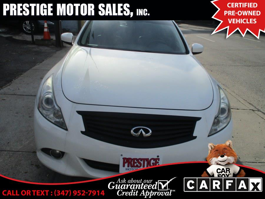 Used 2011 Infiniti G25 Sedan in Brooklyn, New York | Prestige Motor Sales Inc. Brooklyn, New York
