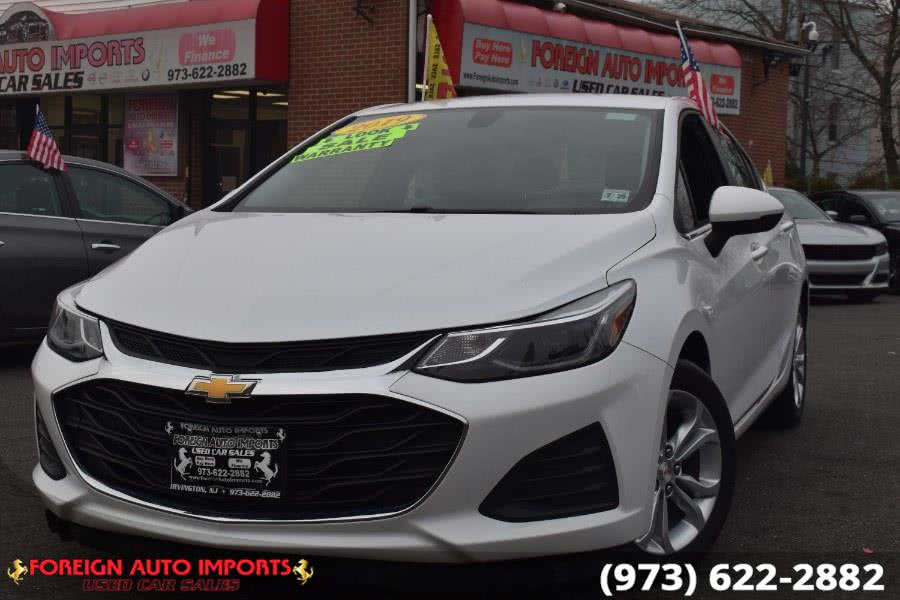 Used 2019 Chevrolet Cruze in Irvington, New Jersey | Foreign Auto Imports. Irvington, New Jersey