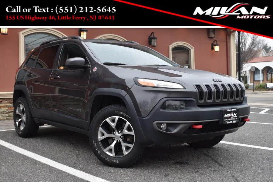 Used Jeep Cherokee 4WD 4dr Trailhawk 2016 | Milan Motors. Little Ferry , New Jersey
