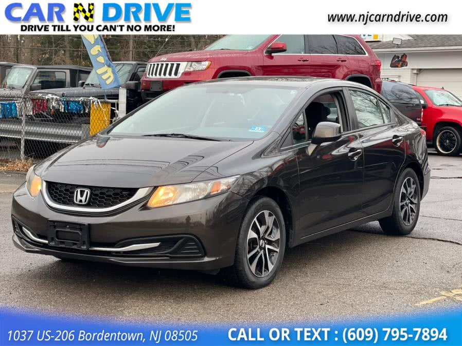 Used Honda Civic EX Sedan 5-Speed AT 2013 | Car N Drive. Bordentown, New Jersey