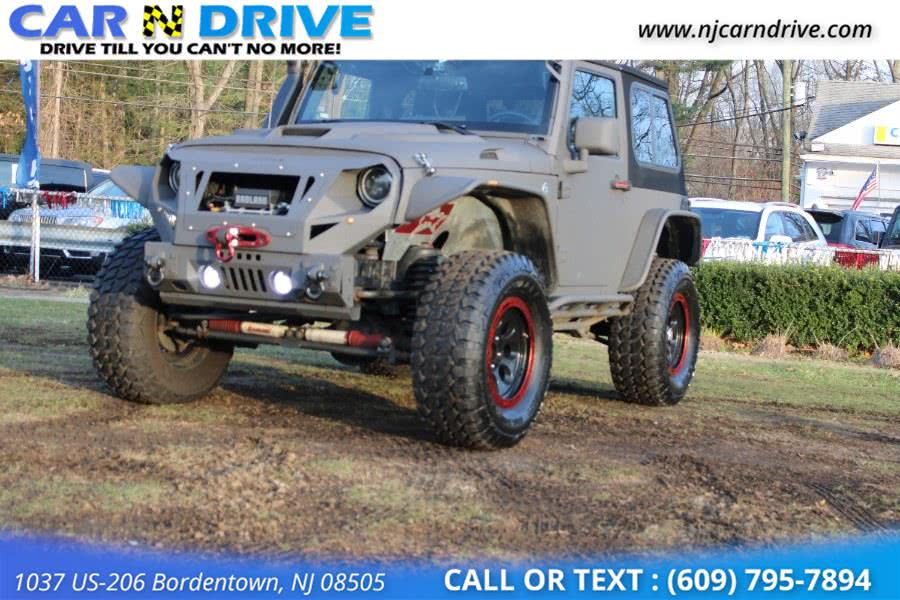 Used Jeep Wrangler X 2008 | Car N Drive. Bordentown, New Jersey