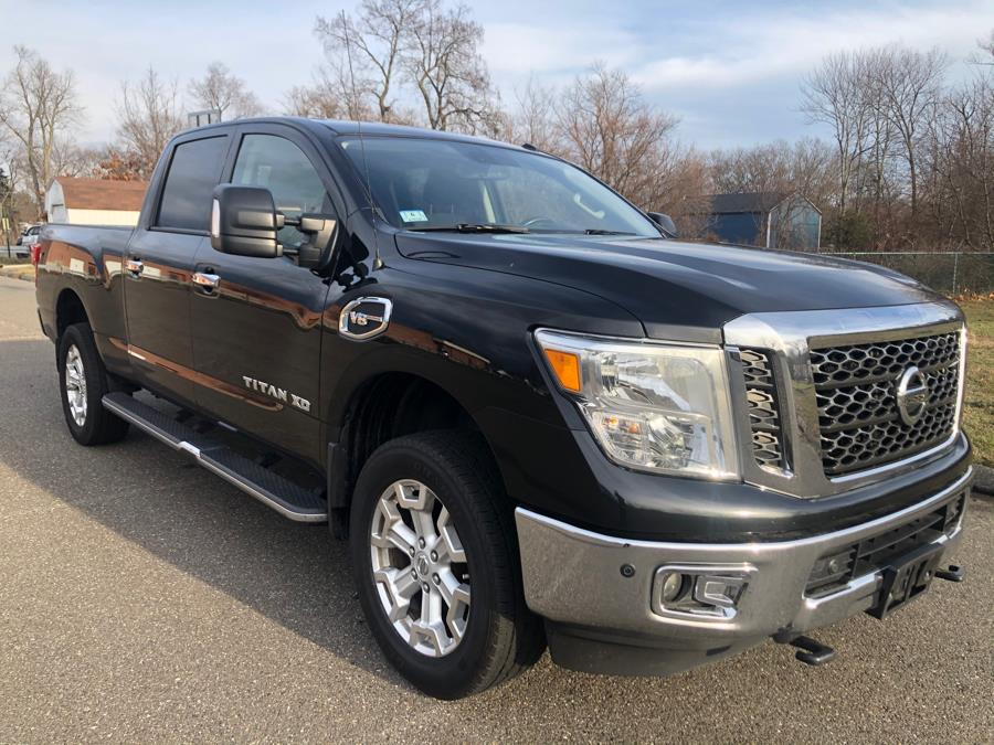 Used Nissan Titan XD 4x4 Gas Crew Cab SV 2017 | Malkoon Motors. Agawam, Massachusetts